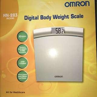 OMRON Digital Body Wright Scale HN-283