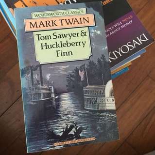 Mark Twain Tom Sawyer & Huckleberry Finn