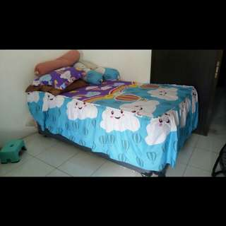 Tempat tidur 2 in 1