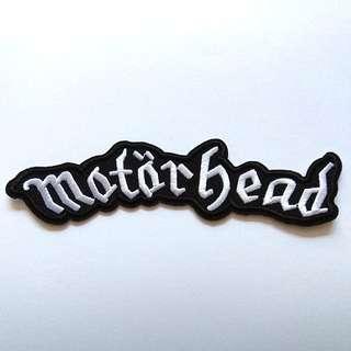 Motor head Motor head Lemme Rock Band Iron On Patch