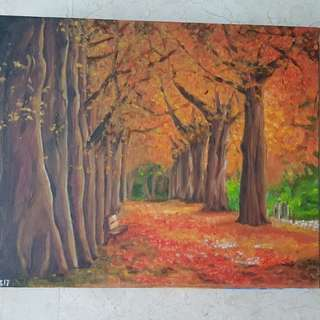Oil Painting Hand Painted Canvas 40x50cm non-frame