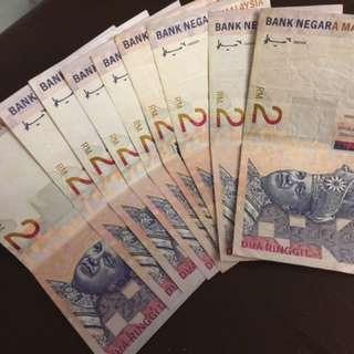 Matawang Lama RM 2 Edisi Limited