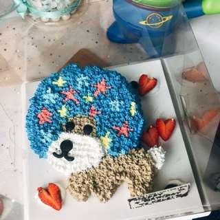 造型忌廉蛋糕