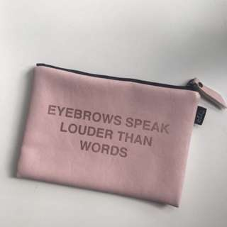 Eyebrows speak louder than words bag