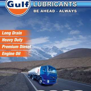 GULF OIL Fully synthetic 5w40