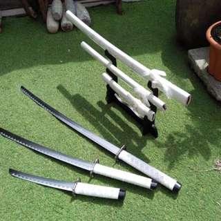 Samurai Sword display
