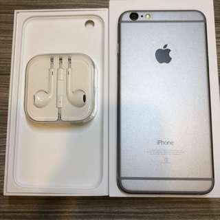 🚚 iPhone 6 Plus 64g 銀色 全機包膜無傷 可議