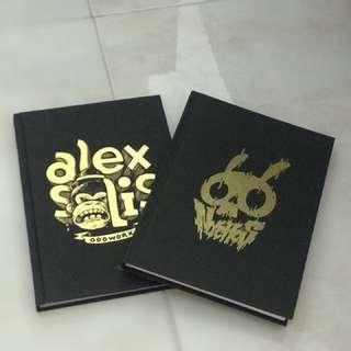 Nychos & Alex Solis art books