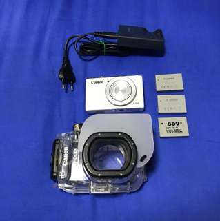 Canon S110 with underwater housing (good deal!)
