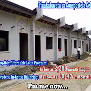 Affordable 1Storey House and Lot in Compostela Cebu