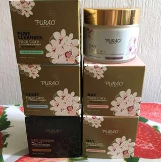 Face care with Manuka honey $25 each