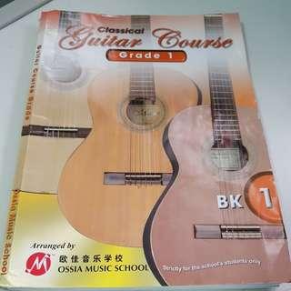 Pre love grade 1 Guitar book