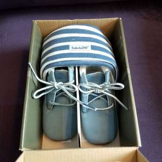 Timberland鞋+帽1set
