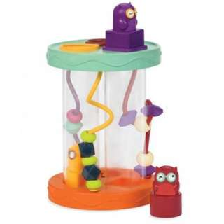 KINDER DREAMS B.TOY HOOTY HOO, SHAPE SORTER WITH SOUND