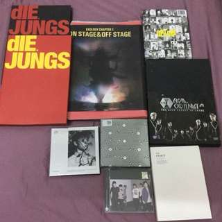 Selling EXO album ,concert dvd and photo book