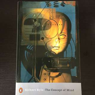 The Concept of Mind Gilbert Ryle Philosophy book