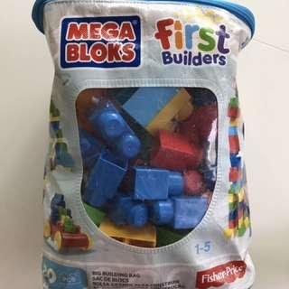 Mega blok classic 80 pieces first builders