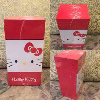 Hello Kitty wooden desktop drawer