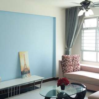 Yishun 4Rm For Rent! Blk 458 Fully Furnished Air-Con