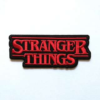 Stranger Things Sci-fi Horror Iron On Patch