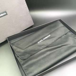 Dolce & Gabbana Bifold Keys Print 3 Zipper Clutch 保證正貨 全新 未用過 包速遞掛號