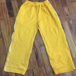 Yellow Jogging Pants for Boys 4T