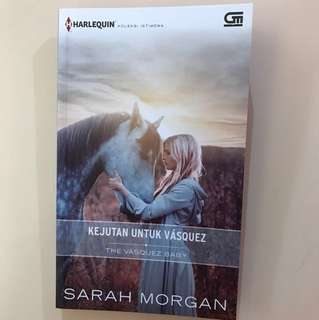 Buku Harlequin - The Vasquez Baby By Sarah Morgan