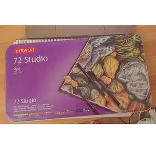 Derwent colour pencils Studio Artists