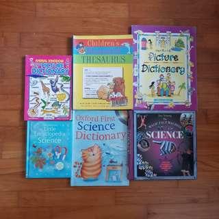 Children English & Science Books