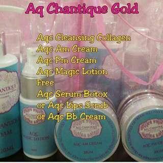 Aq Chantique Gold Skincare