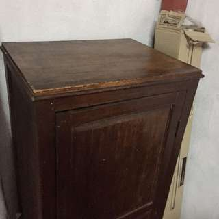 Old antique cupboard