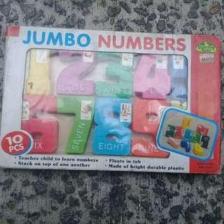 Educational Jumbo Numbers