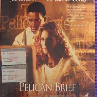 Laser Disc Movie - The Pelican Brief