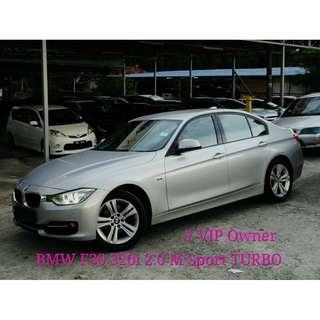 2015 Bmw 320i 2.0 (A) F30 LOCAL FULL SVC RECORD