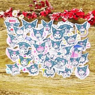 We love Kuromi Scrapbook / Planner Stickers #71