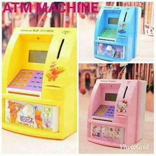 Character Atm machine