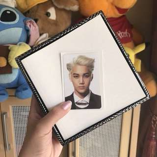 EXO ALBUM (KAI PHOTOCARD) UNSEALED