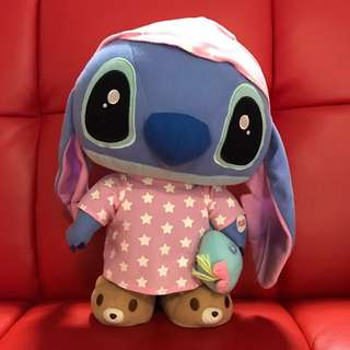 Stitch Plush Toy (Can move and play music)