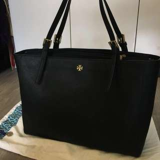 有單有塵袋tory burch york buckle tote