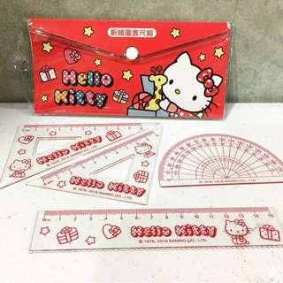 Hello kitty ruler set