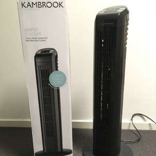 Kambrook Arctic 77cm Tower Fan with Remote Control