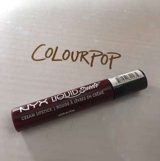NYX cream lipstick
