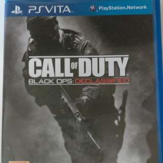 Call Of Duty [Black OPS: Declassified] PS VITA