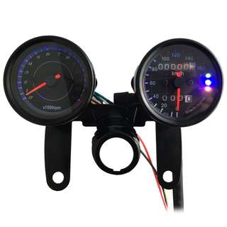 💯 B733 Z 13000 Rpm Digital Signal Motorcycle Speedometer Odometer Tachometer