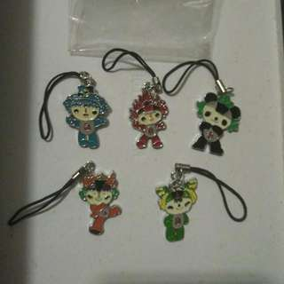 2008 Olympic Games HP Keychain