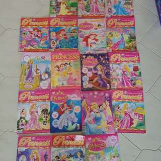 Princess series magazines collection for young children