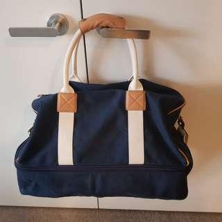 Redcurrent Navy Weekender Bag