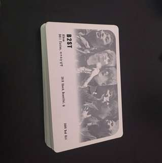 B2ST playing cards