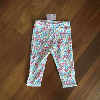 BN Mothercare Cropped Pants 4yrs