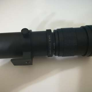 Canon mount telephoto lens
